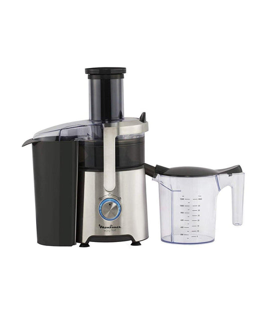 Moulinex Juicer Black/Stainless Steel - JU610D10