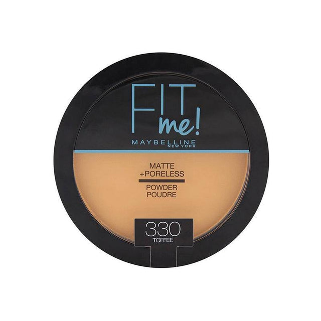 Maybelline Fit Me Matte + Poreless Powder 330 Toffee - zapple.pk