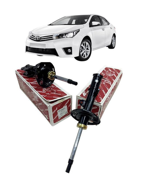 Toyota Corolla 2015 To 2019 Shock Absorbers Set - Front 2 pcs - zapple.pk