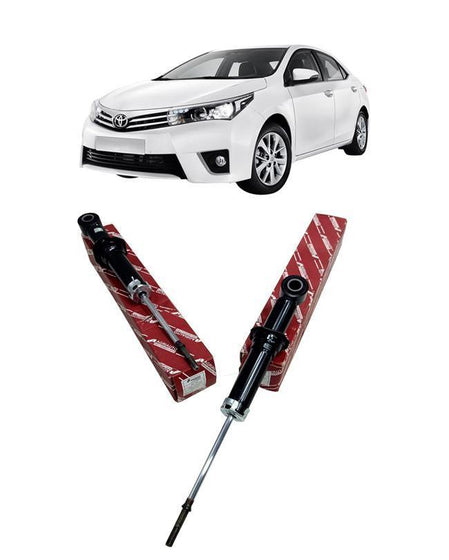 Toyota Corolla 2015 To 2019 Shock Absorbers Set - Rear 2 pcs - zapple.pk