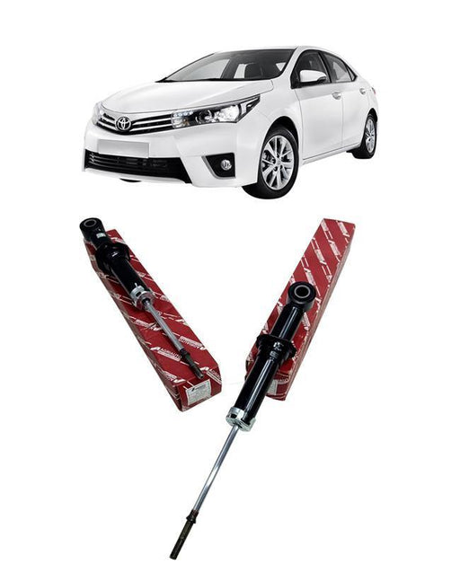 Toyota Corolla 2015 To 2019 Shock Absorbers Set - Rear 2 pcs