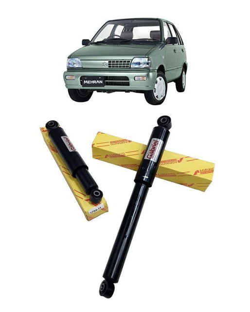 Suzuki Mehran Shock Absorbers Set - Rear 2 pcs - zapple.pk
