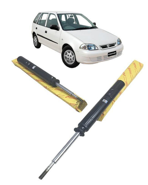 Suzuki Cultus Upto 2017 Shock Absorbers Set - Rear 2 pcs - zapple.pk