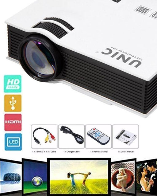 LCD HDMI Home Theater Projector UC40 PLUS