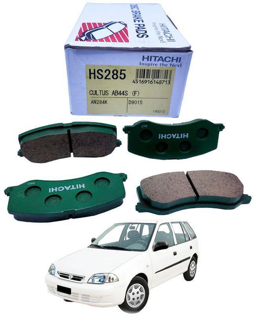 Suzuki Cultus 2008 To 2017 Disc Brake Pads Front Set - zapple.pk