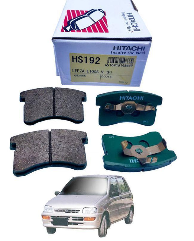Daihatsu Cuore Disc Brake Pads Front Set - zapple.pk