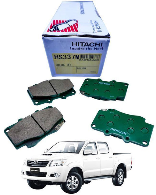 Toyota Vigo 4x4 Disc Brake Pads Front Set - zapple.pk