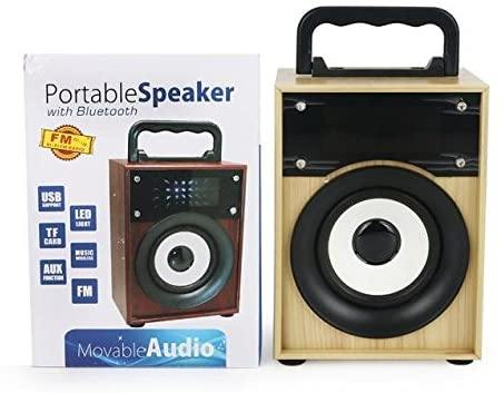 Portable Speaker Movable Audio With Bluetooth - zapple.pk