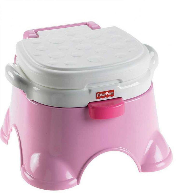 Fisher Price Pink Princess Stepstool Potty Chair - zapple.pk