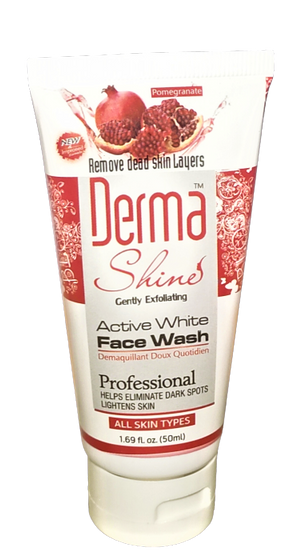 Derma Shine Active White Facewash 50ml ( ALL Skin Types )