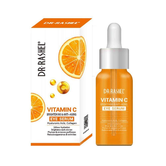 Dr.Rashel Vitamin C Brightening & Anti Aging Eye Serum - zapple.pk