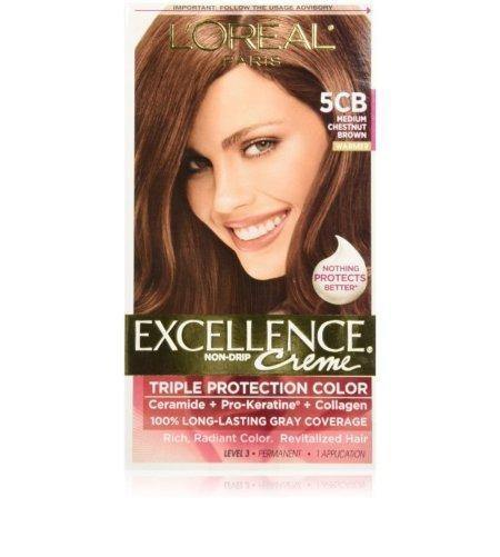 L'ORÉAL Paris Excellence Creme 3 Dark Chestnut brown - zapple.pk