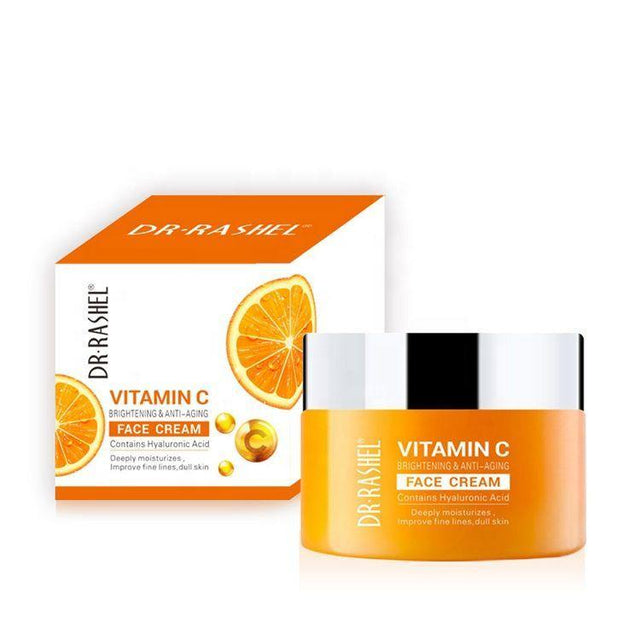 Dr.Rashel Vitamin C Brightening & Anti Aging Face Cream - zapple.pk