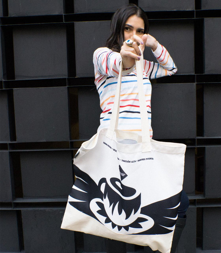 Tote Bag Condor Negro - Vereda Central