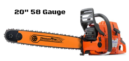 GB Titanium®ProTOP Chainsaw Bar HV20-58PA