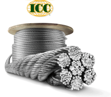 9/16 x 500' General Purpose Wire Rope