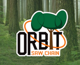 "Orbit 3/8"" 0.50 Gauge Chainsaw chain 100 FT Reel,"