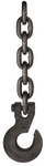 3/8' x 10' Round Choker Chain with Bolt Hook
