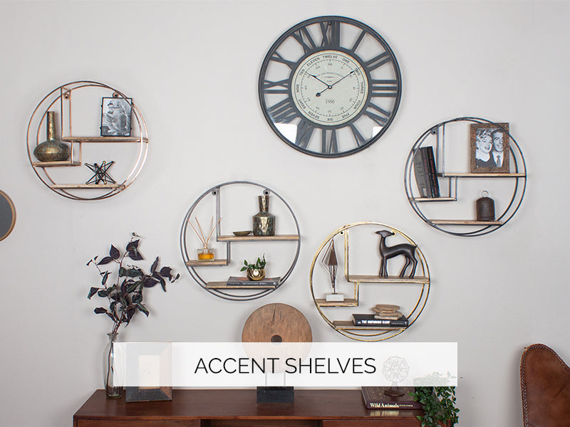 Accent Shelves