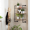 Weston Solid Wood Three Tier Shelf - Black