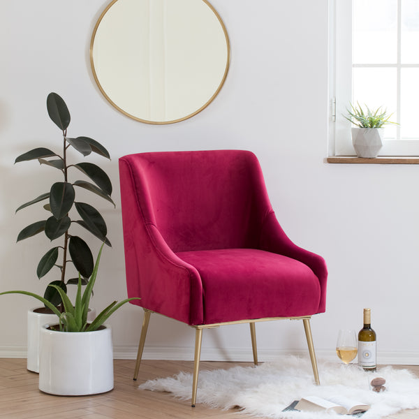 Casa Arm Chair - Maroon