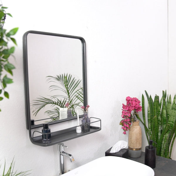 Moselle Wall Mirror With Shelf