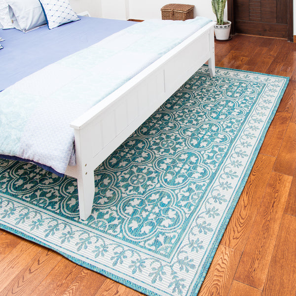 Jasmine Ocean Indoor/Outdoor Area Rug
