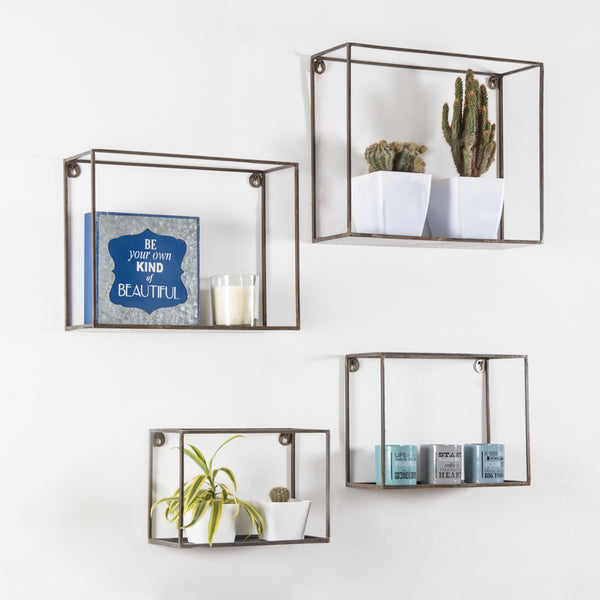 Vendome Wall Shelves Set Of 4