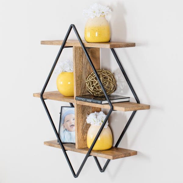 Tignes Wall Shelf - Black