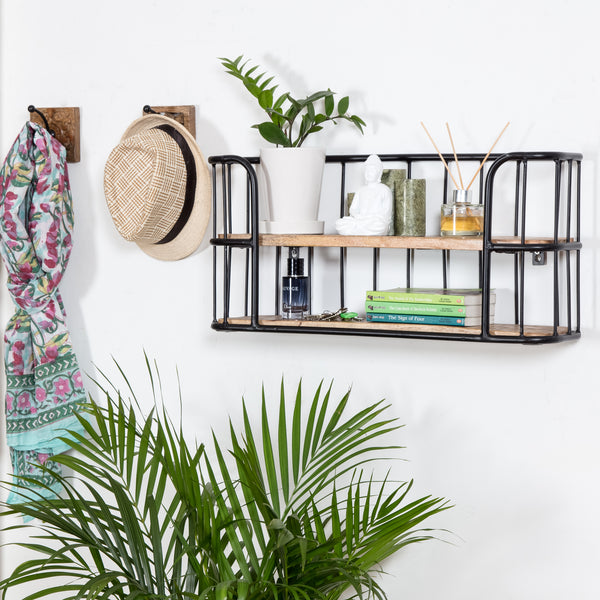 Venables Two -Tier Wall Shelf