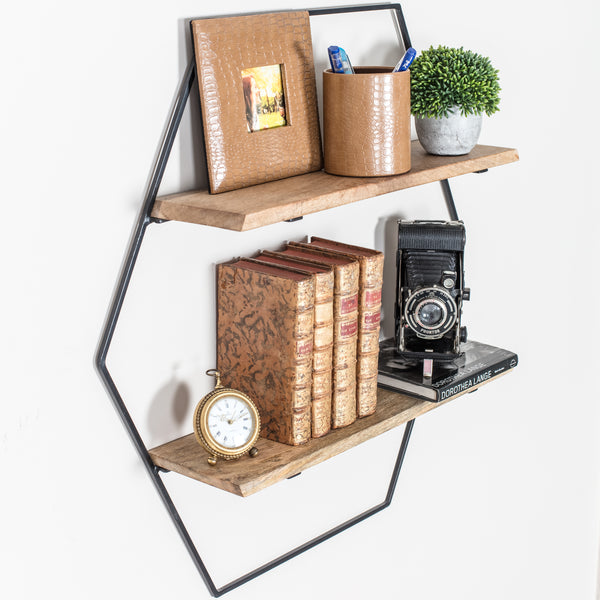 Cassie Wall Shelf Black