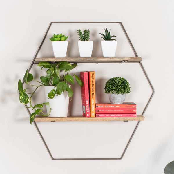 Cassie Wall Shelf Bronze