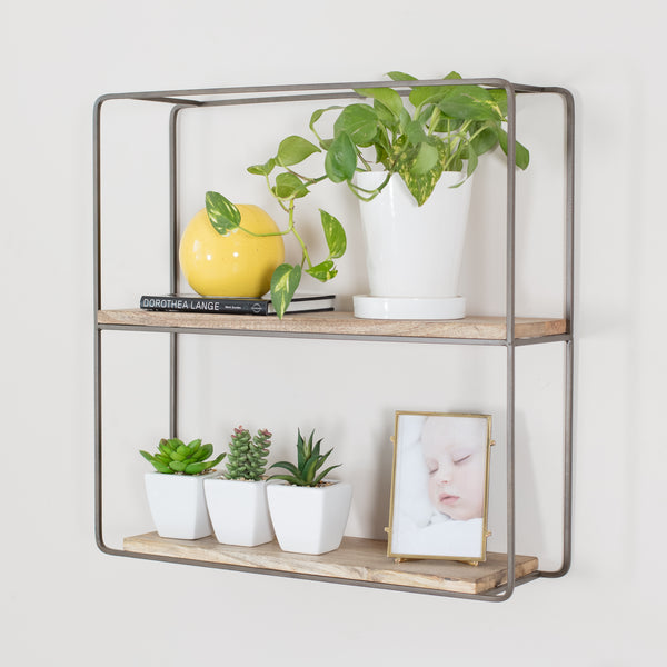 Flora Wall Shelf Bronze