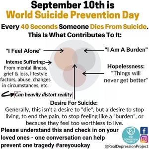 World Suicide Prevention Day | September 10, 2020🎗