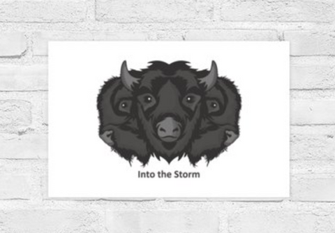 Poster Into the Storm Horizontal