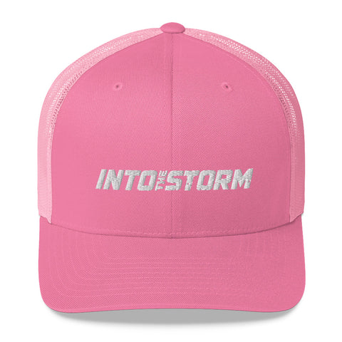 Into the Storm Pink Trucker Cap