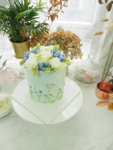 Korean Style Flower Cake