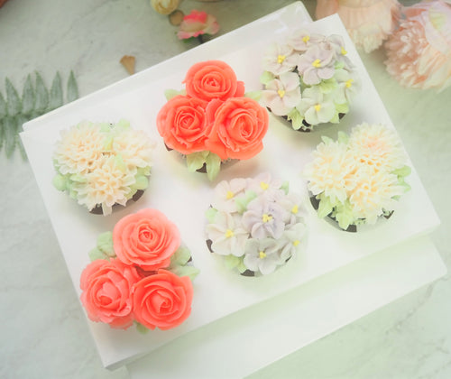 Flower Cup Cake Set
