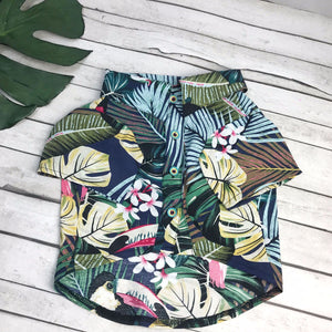 Stylish Hawaii clothes for dog