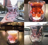 Cherry Blossom Cat Paw Cup ( China Starbucks limited edition)