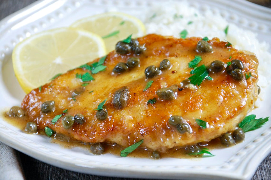 Chicken Citrus Piccata