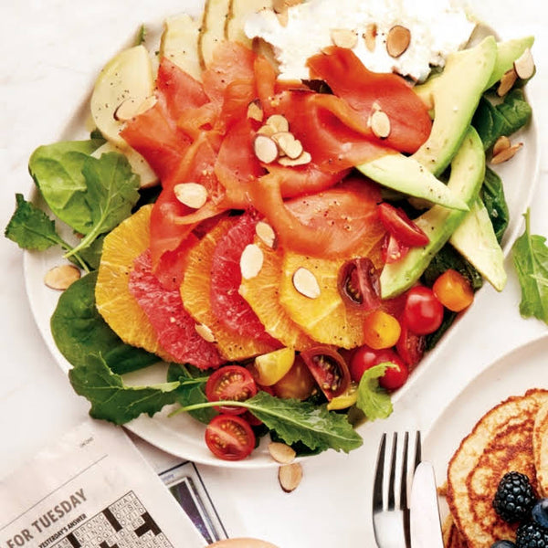 Kick Start Breakfast Grapefruit Salad