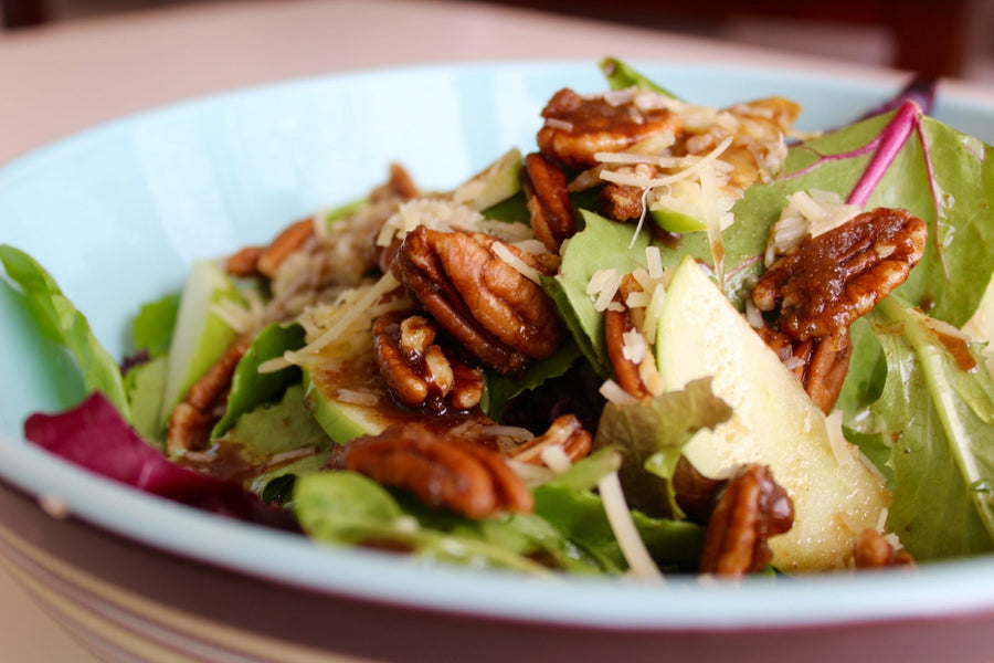 Autumn Maple Balsamic Salad