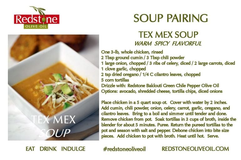 Tex Mex Green Chili Soup