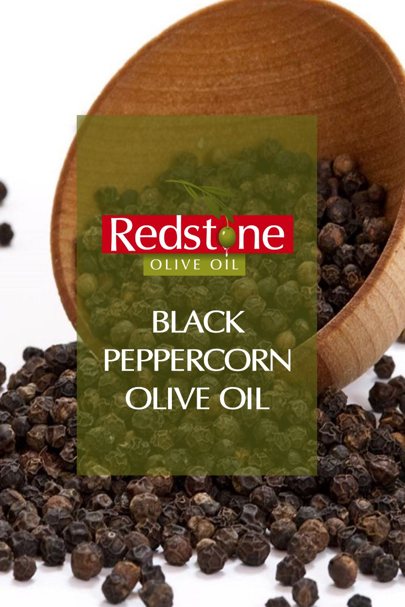 Black Peppercorn Infused Olive Oil