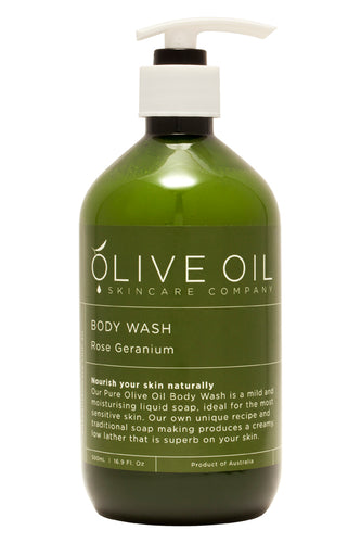 Extra Virgin Olive Oil Body Wash