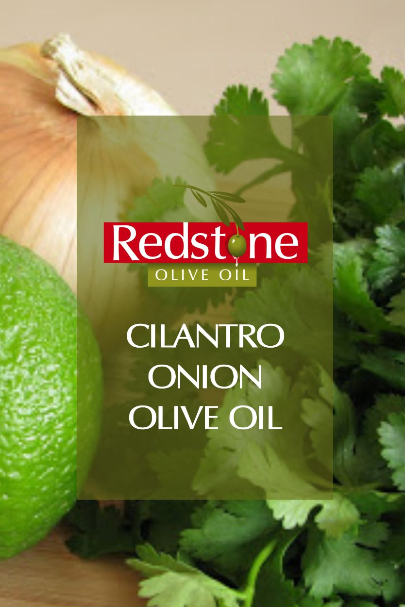 Cilantro Roasted Onion Infused Olive Oil
