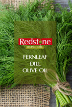 Load image into Gallery viewer, Wild Fernleaf Dill Infused Olive Oil