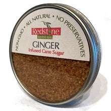 Load image into Gallery viewer, Ginger Infused Cane Sugar