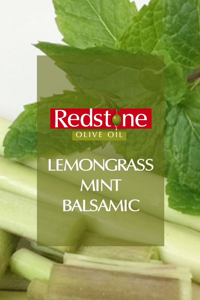 Thai Lemongrass Mint White Balsamic Vinegar